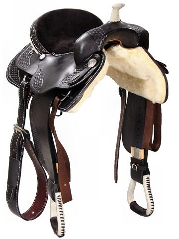 Front View, Dakota Trail Saddle 350BL