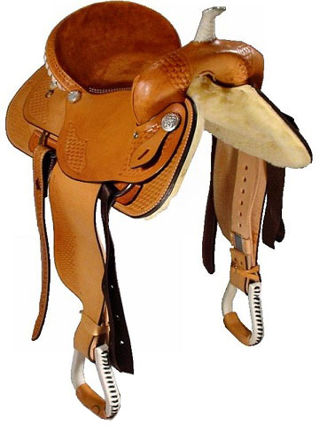 Front View, Dakota Trail Saddle 350LO