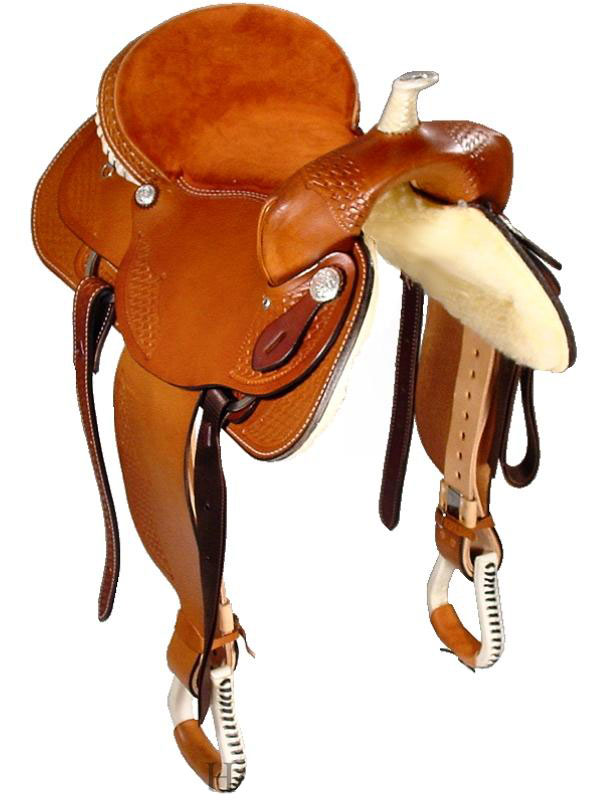 Front View, Dakota Trail Saddle 350gb
