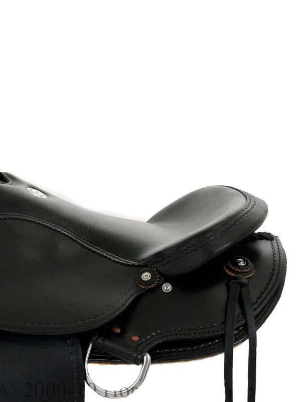 Side Detail View, Dakota Arabian Saddle 5320