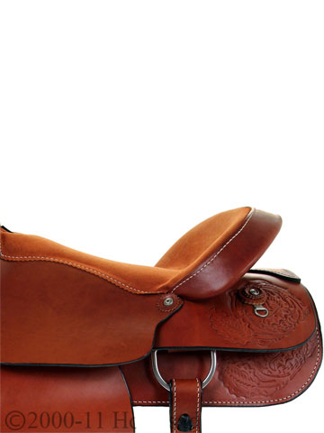 Side Detail View, Dakota Pleasure Saddle 900j