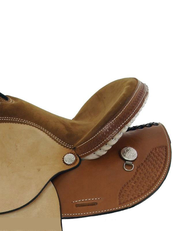 Side Detail View, Dakota Child's Trail Saddle 910s
