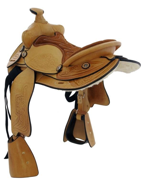 Back View, Dakota Pony Saddle 950