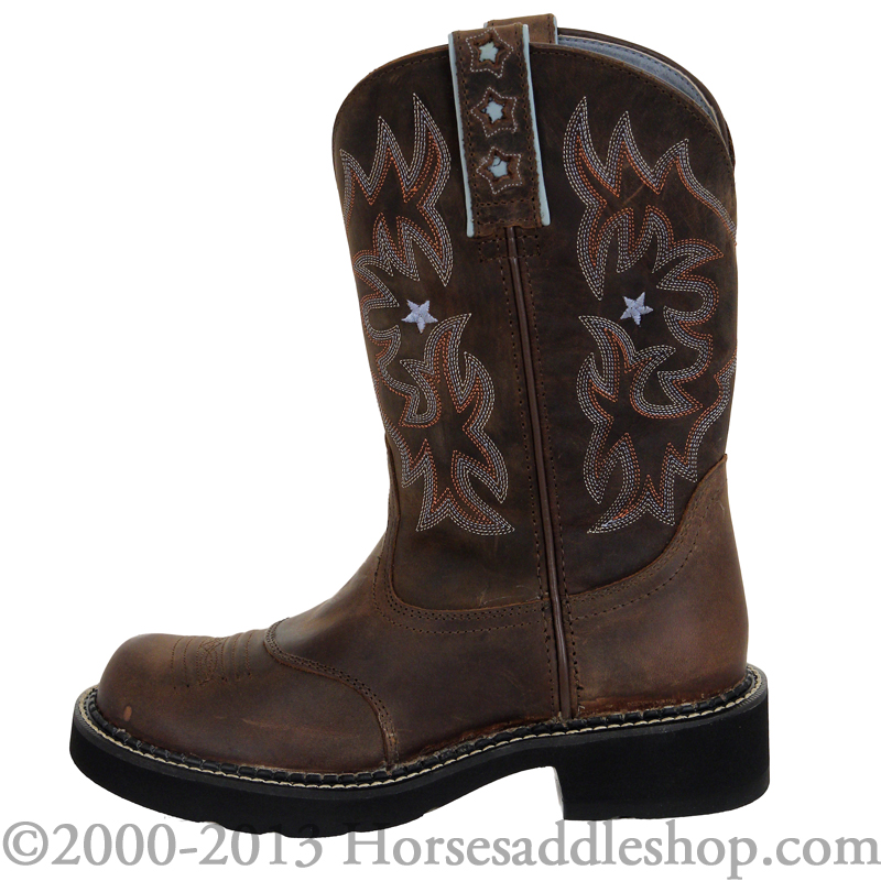 Ariat Women's Probaby Boots Fatbaby Toe 10001132