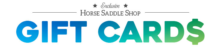 Free gift cards with the purchase of select saddles!