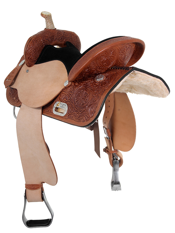 13 u0026quot  to 17 u0026quot  high horse by circle y liberty barrel saddle 6212