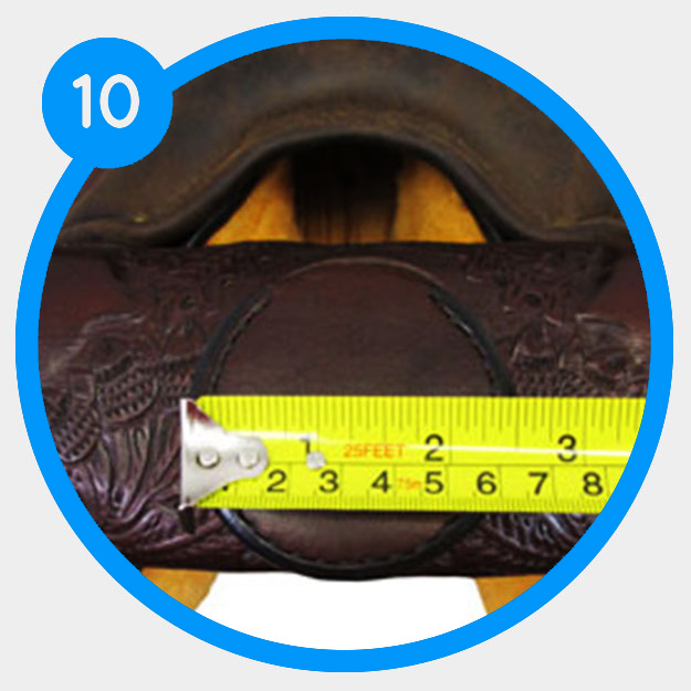 How to measure the post and cap of your saddle