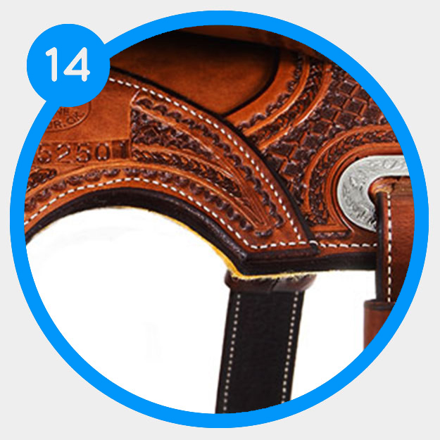 Searching your saddles for extra features