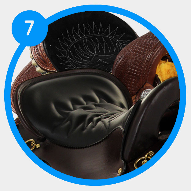 How to determine the seat material of your saddle