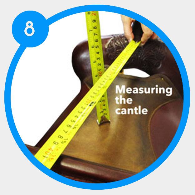 How to determine the cantle height of your saddle