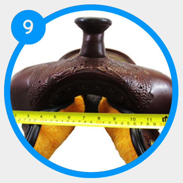 How to determine the swell width of your saddle