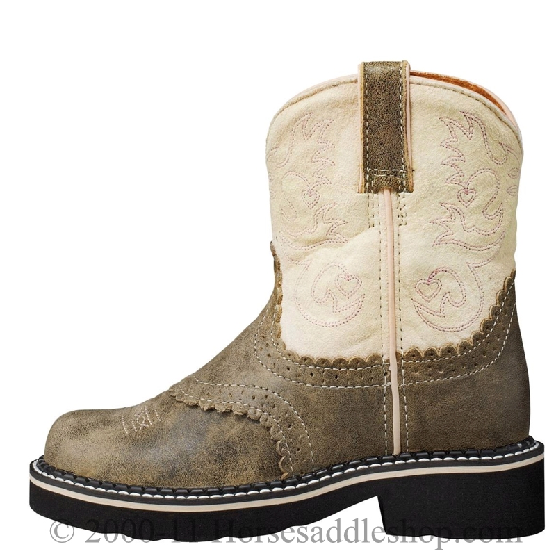 6395df46c8fa8 6 Youth Kid's Ariat Brown Bomber Fatbaby Boots 10001995