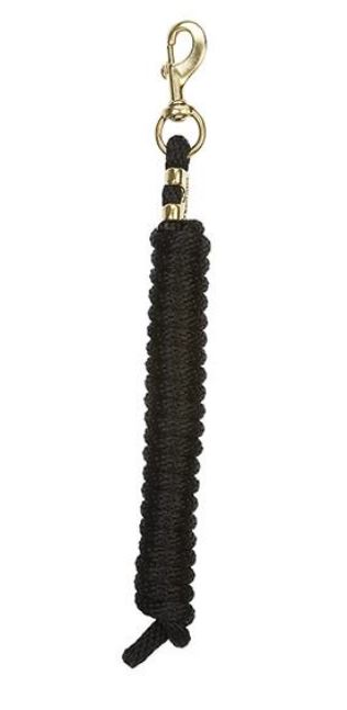 Black Poly Lead Ropes