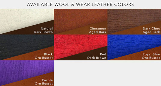 Roper Saddle Pad Available Colors