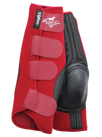 Crimson Red VanTECH Slide-Tec Skid Boots