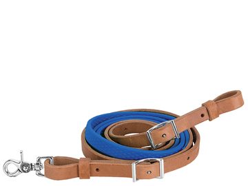 Barrel Reins with Rubber Grip 50-1740