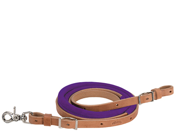 Suede Covered Barrel Reins 50-1745