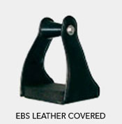 Tucker EBS Leather Covered Stirrups