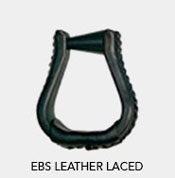 Tucker EBS Leather Laced Stirrups