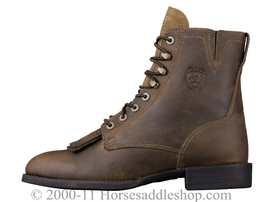 Ariat Women S Boots Heritage Lacer Ii U Toe Distressed