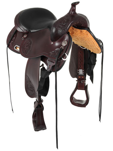 Circle Y Lady Trail Wide Flex2 Saddle 5701 Front