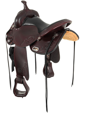 Circle Y Lady Trail Flex2 Saddle 5701 Back