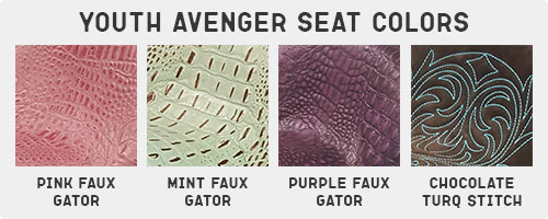 Circle Y Youth Avenger Seat Colors