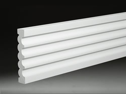 Fluted/Reeded Casing - Click for detail drawing