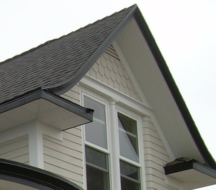 AZEK Brand Beadboard on Gable