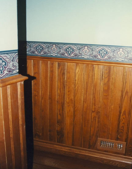 48'' Tall Beadboard Wainscotting