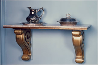 Sideboard using Corbels