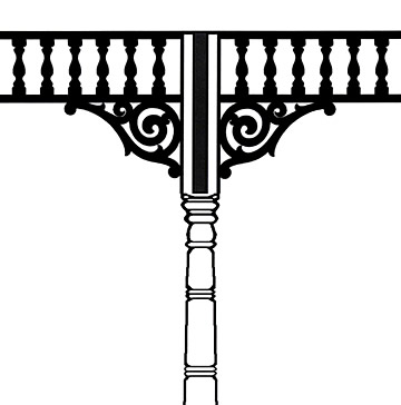 Brackets below Spandrels