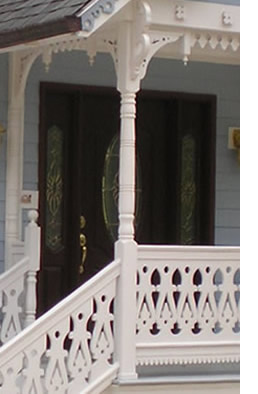 Balusters Touching