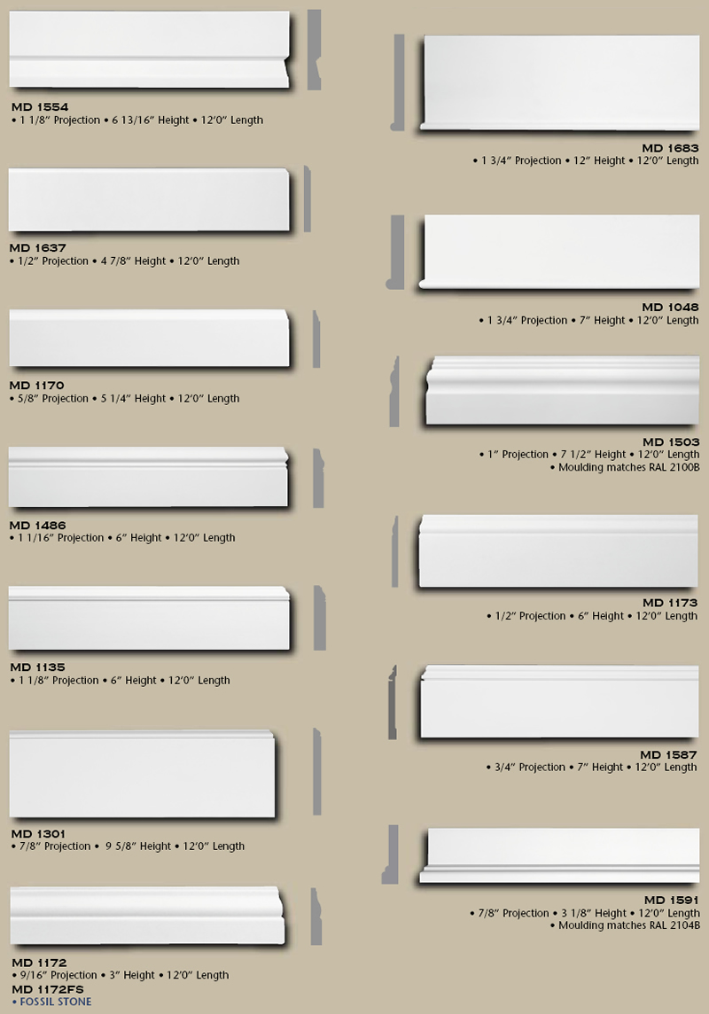 Polyurethane baseboard high density quality buy online Interior trim paint calculator