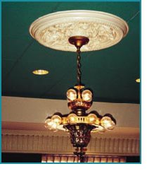Polyurethane Ceiling Medallion Usage Photo