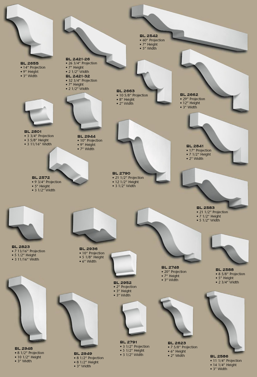 Polyurethane Corbels Pg 16 Buy Online Huge Selection