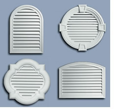 Polyurethane Vents, Louvered