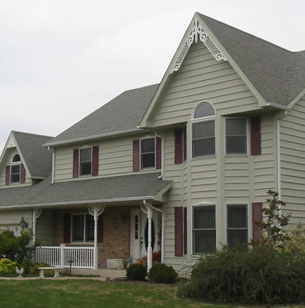 Example of 2-story, newer home (Porch Photo 164)
