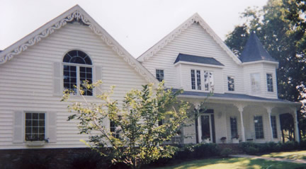 Example of 2-story with tower (Porch Photo 27)