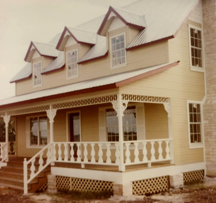 Example of 1-1/2 story with dormers (Porch Photo 47)