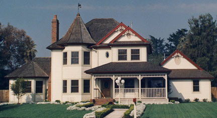 Example of 2-story with tower (Porch Photo 77)