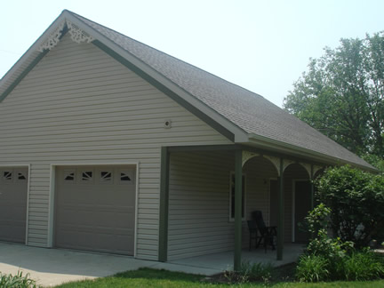 1-story with porch under main roof (Porch Photo 89)