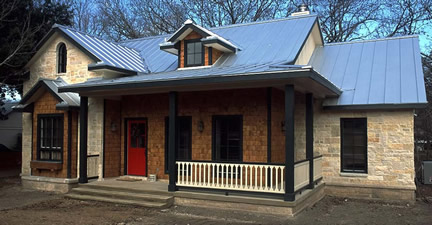 Example of 1-1/2 story with dormers (Porch Photo 92)