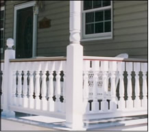 Porch Balusters (Spindles) Usage Photo