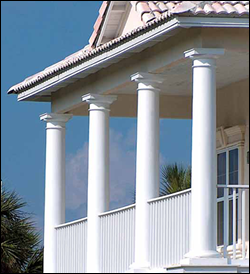 Fiberglass Columns in Many Sizes and Shapes