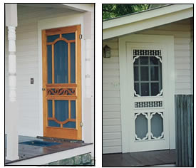 Door 7110 and Door 7102 at the owner's house