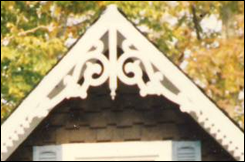 Running Trim used with Gable Decoration
