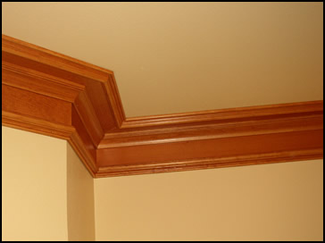 Crown Moulding Usage Photo