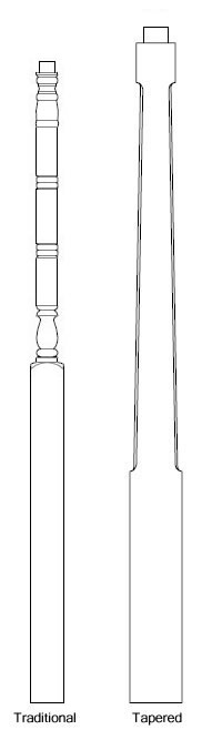 Polyethylene Lamp Posts