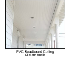 Beadboard Porch Ceilings